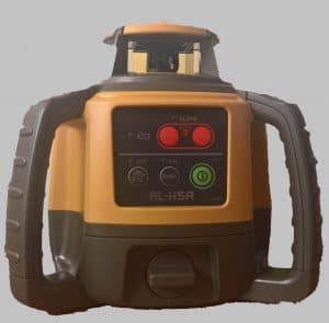 Topcon RL-H5A rotating laser level review on LSSLTD.NET. laser level reviews, topcon laser review,