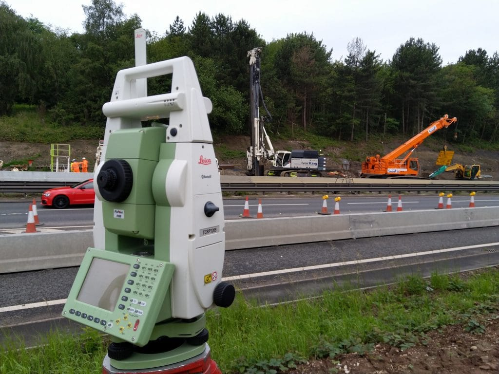 Leica Total Station Checks