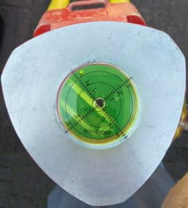 Large Bullseye Bubble Spirit Level