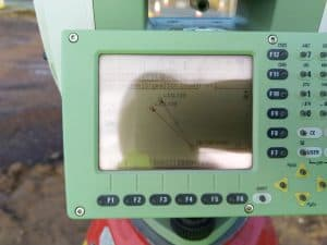 Small Angled Resection Total Station