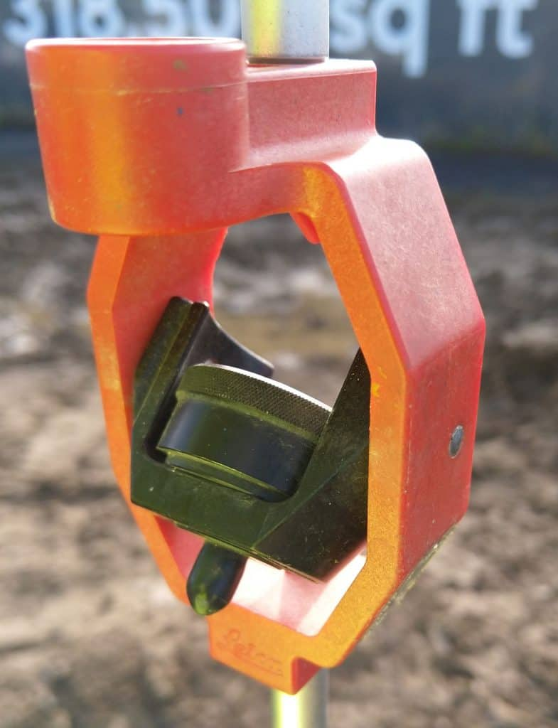 Mini Prism that will affect the accuracy of a total station