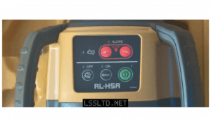 Topcon RL-H5A rotating laser level review