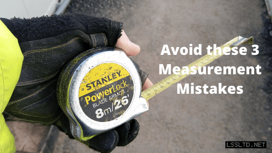 3 Measurement Mistakes. Avoid these three measurement mistakes in construction setting out