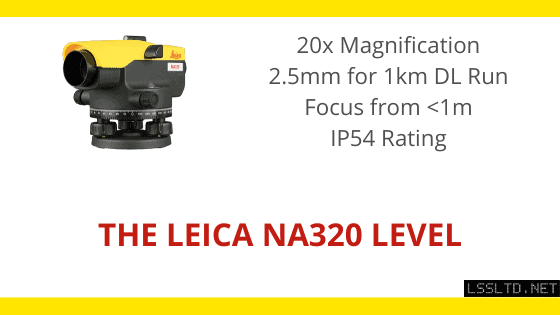 Leica NA320 dumpy level review, leica na300 series of automatic levels, leica NA320