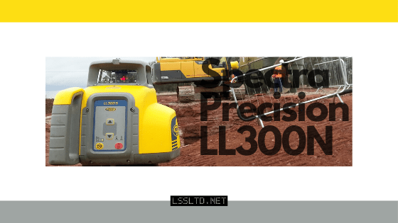 Spectra Precision LL300N rotating laser level