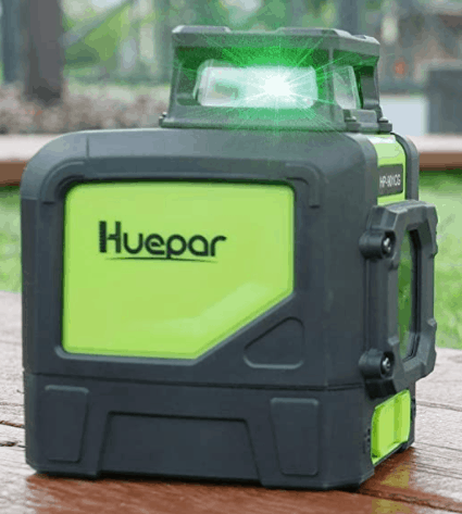 Huepar 901 CG Line Laser. laser level for patio
