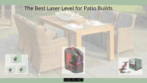 laser level for patio builds